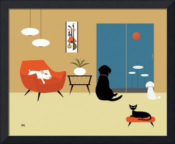 Mid Century Modern Animals