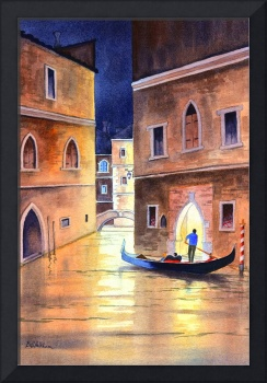 Venice Italy - Evening Gondola Ride