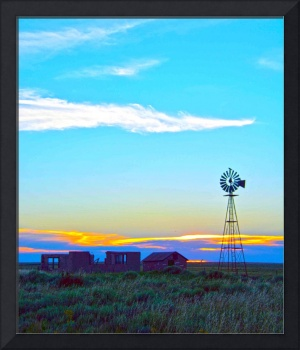 New Mexico Wind Mill