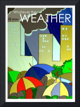 Whatever the weather art deco