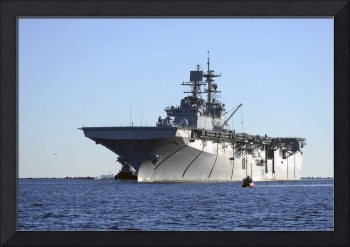 USS Bataan arrives at Naval Station Mayport, Flori
