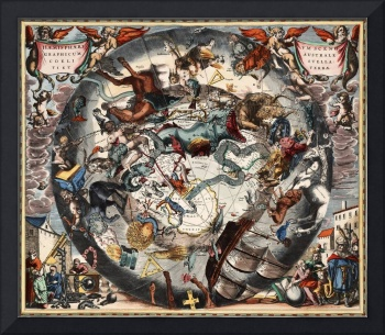 Keller's Harmonia Macrocosmica - Scenography of th