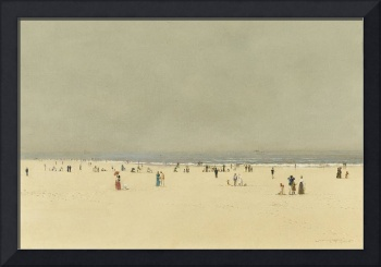 John Atkinson Grimshaw - Sand, Sea and Sky, a Summ