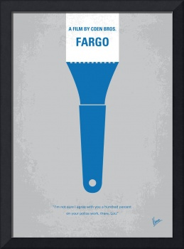 No283 My FARGO minimal movie poster