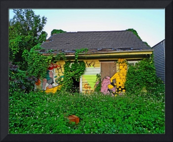 Magically Blighted House, New Orleans