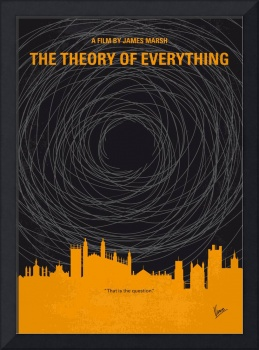 No568 My The theory of everything minimal movie po
