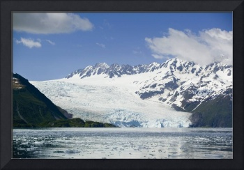 Aialik Glacier meets Aialik Bay within the Kenai F