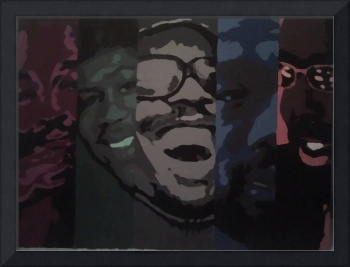 Marvin Gaye, Al Green, Stevie Wonder, Isaac Hayes,