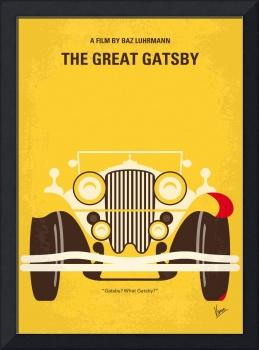 No206 My The Great Gatsby minimal movie poster