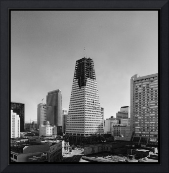 Transamerica Pyramid under construction 1972, San
