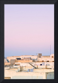 View Over Rooftops, Kairouan, Tunisia
