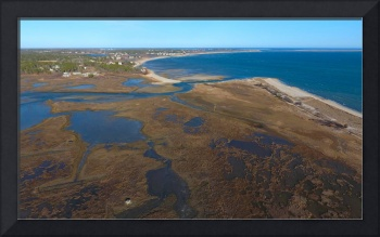 Forest Beach Marsh Aerial : South Chatham, MA