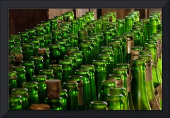 Green Soda Bottles, Ghost Town of Bodie