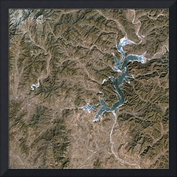 Shenwo Shuiku (China) : Satellite Image