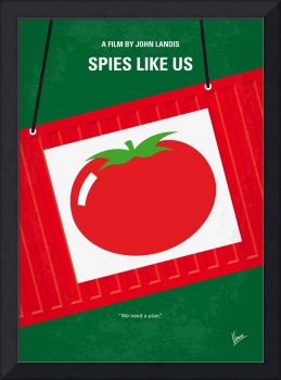 No831 My Spies Like Us minimal movie poster
