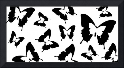 Butterfly Parade Black