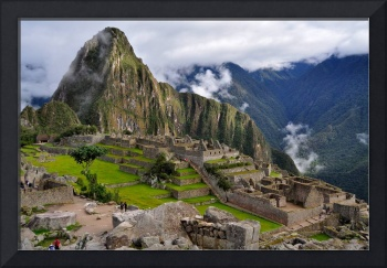 Classic View of Machu Picchu