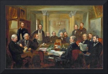 Lowes Cato Dickinson - Gladstone's Cabinet of 1868