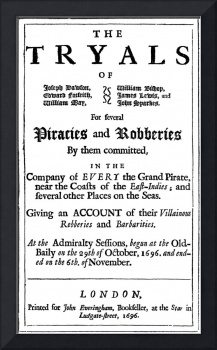 Authentic Pirate Trial Poster