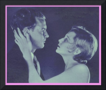 1932 Blue Couple in Profile (photographer unknown)
