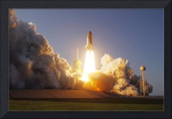 Space Shuttle Discovery lifts off from its launch