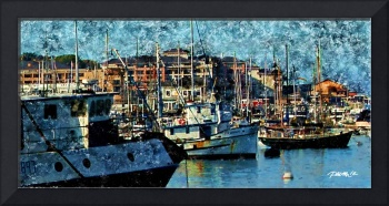 Fishing Boats and Cannery Row, Monterey CA