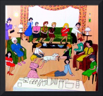 Tupperware Party 1960s