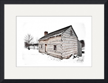 Joseph Smith, Senior, Log Home, Palmyra by D. Brent Walton