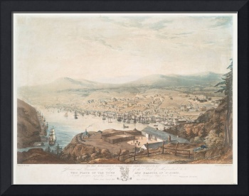 Vintage Pictorial Map of St Johns Newfoundland (18