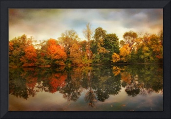 Twin Pond Reflections