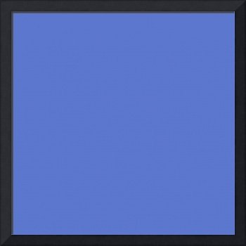 Square PMS-2718 HEX-5B77CC Cyan Blue