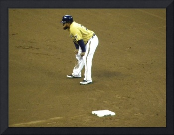 Prince Fielder at 2nd base