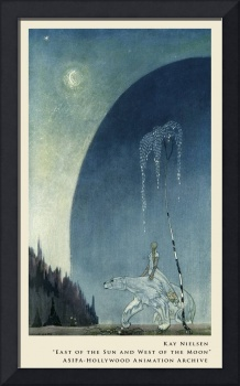 Hold Tight by my Shaggy Coat by Kay Nielsen