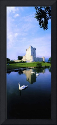 Ross Castle, Lough Leane, Killarney National Park,
