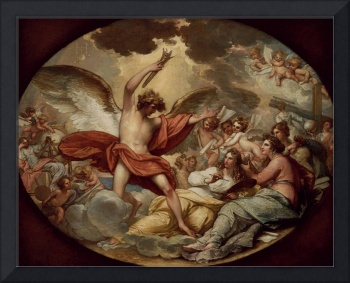 Benjamin West~Genius Calling Forth the Fine Arts t
