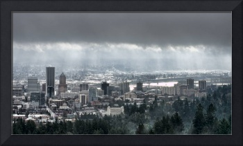Portland Oregon After a Morning Rain