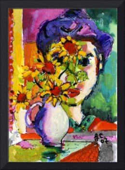 Homage to Matisse by Ginette Callaway