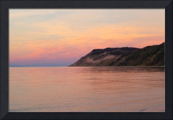 Lake Michigan Sunset at Empire Bluffs