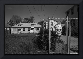 Skull Fence, Far Rockaway, New York