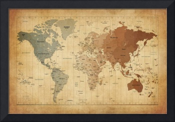 Time Zones Map of the World