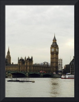 Parliament across the Thames