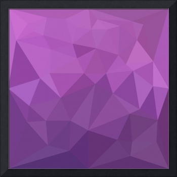 Plum Purple Abstract Low Polygon Background