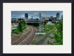 Downtown Tracks by Mark Cullen