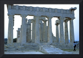 Temple of Aphaia, Aegina, Spring Evening 2003 8