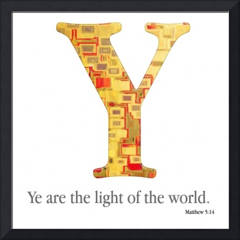 Y, the Christian Alphabet