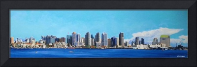 San Diego California by RD Riccoboni