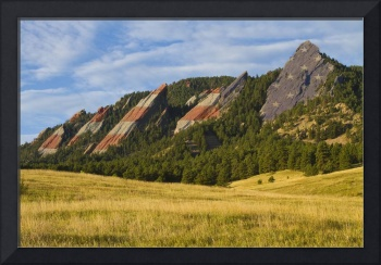 American Flatiron Morning Light Boulder Colorado