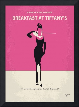 No204 My Breakfast at Tiffanys movie poster