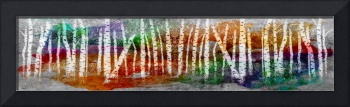 Abstract Birch Tree Forest 693016