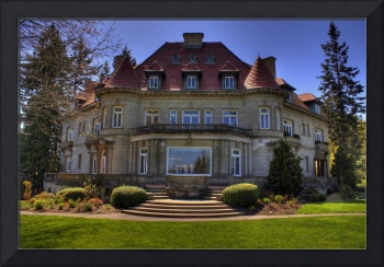 Pittock Mansion In HDR